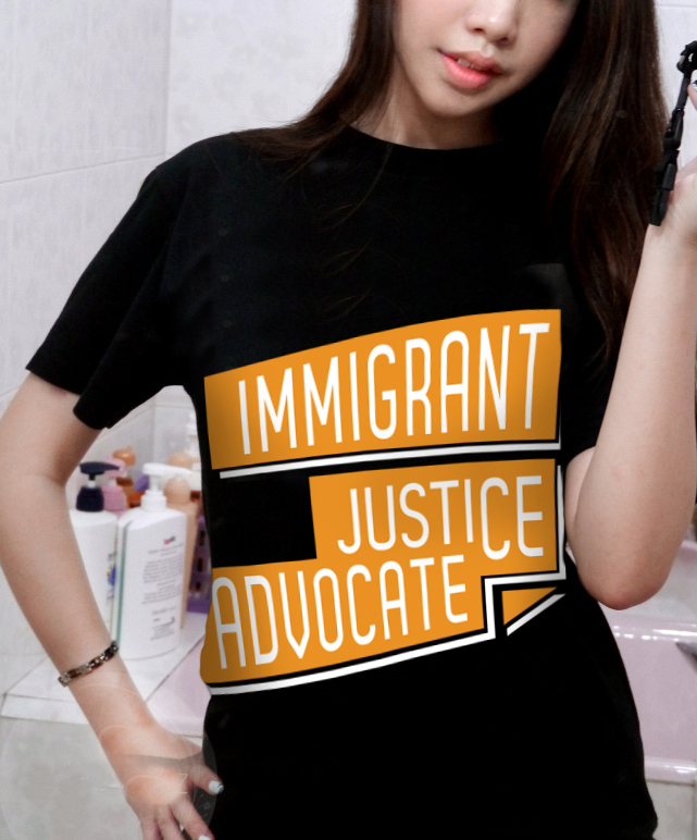 Immigrant Justice Advocates Tshirt